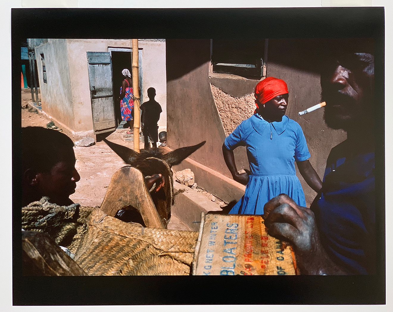 Bombardopolis Haiti artwork by Alex Webb - art listed for sale on Artplode