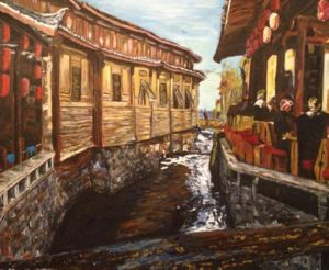 Afternoon Delight in Liqiang, art for sale online by Belinda Low