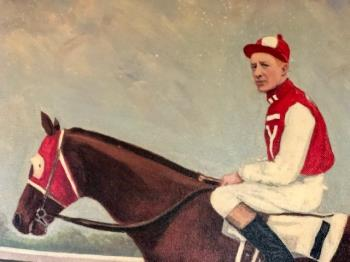 Seabiscuit and Red Pollard 1937 artwork by Unknown Artist