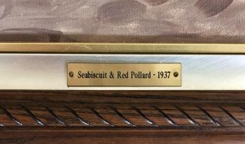 Seabiscuit and Red Pollard 1937 artwork by Unknown Artist - art listed for sale on Artplode