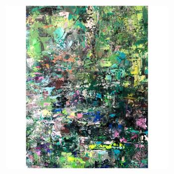 Amazonia  artwork by Maria Esmar - art listed for sale on Artplode