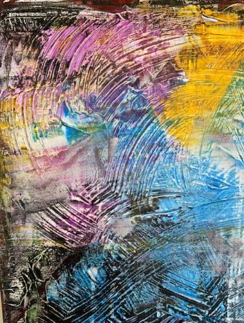 Migura River Tokyo artwork by Alena Kuksa - art listed for sale on Artplode