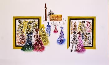 Tutti vanno al Carnevale II., art for sale online by LETIZIA ZOMBORY