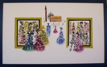 Tutti vanno al Carnevale II. artwork by LETIZIA ZOMBORY