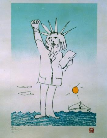 Power to the People, art for sale online by John Lennon