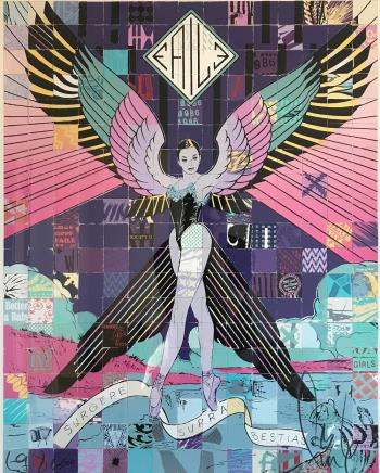 Surgere Supra Bestias, art for sale online by Faile