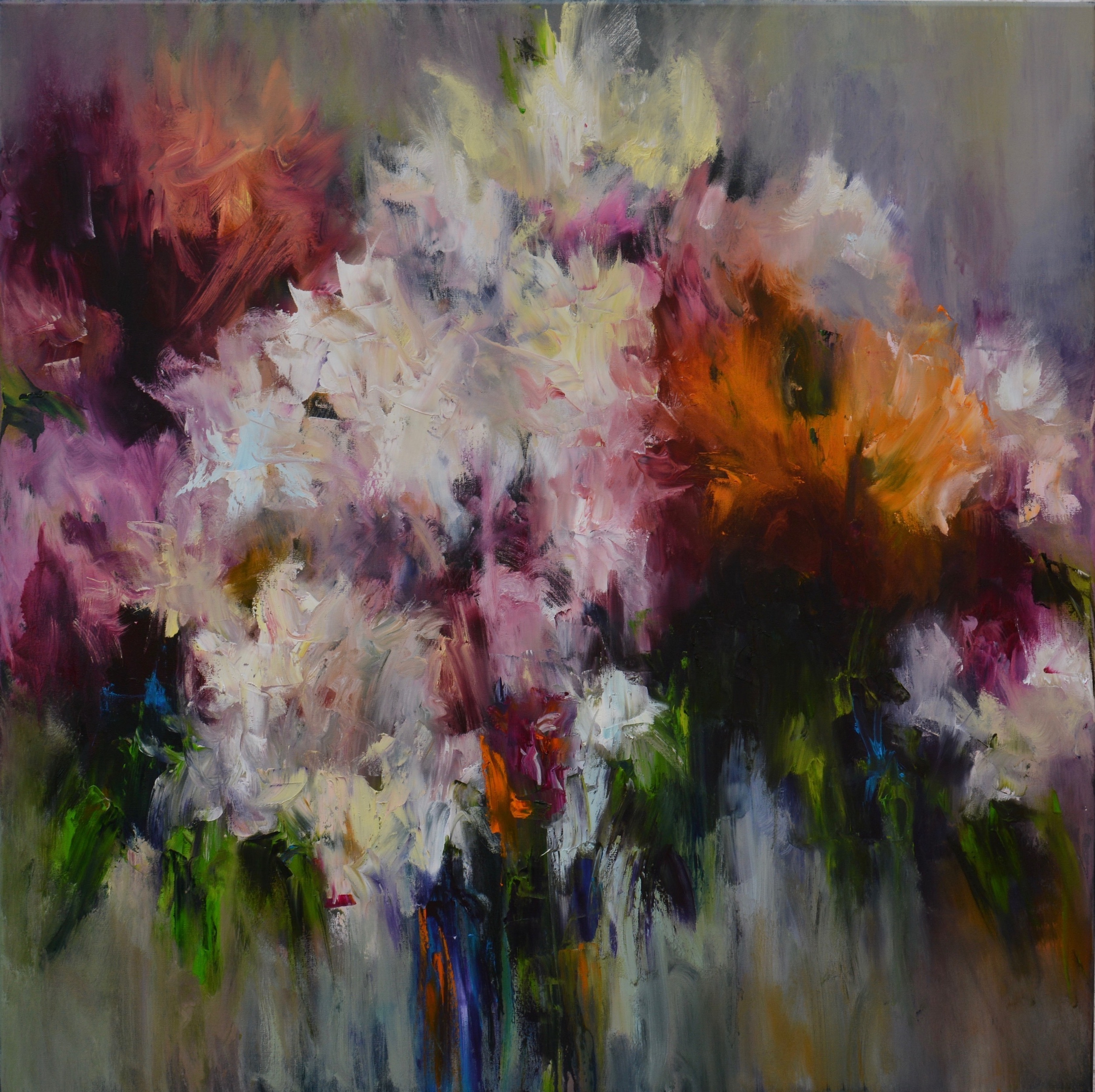 Flowers 002 artwork by Artur Amoura - art listed for sale on Artplode