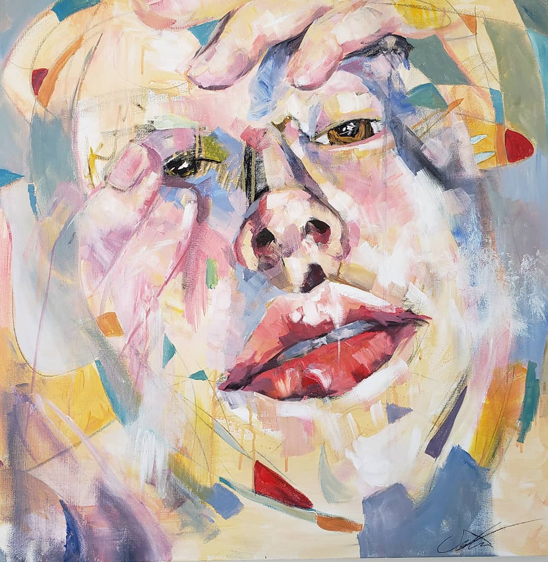 Stare I artwork by Camille Chiang - art listed for sale on Artplode