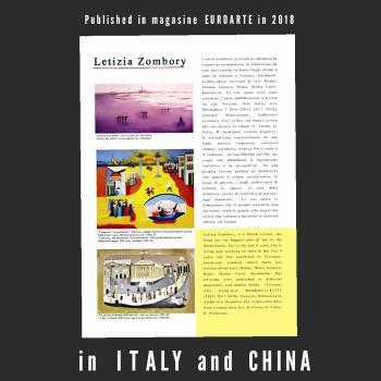 Venezia il silenzio artwork by LETIZIA ZOMBORY - art listed for sale on Artplode