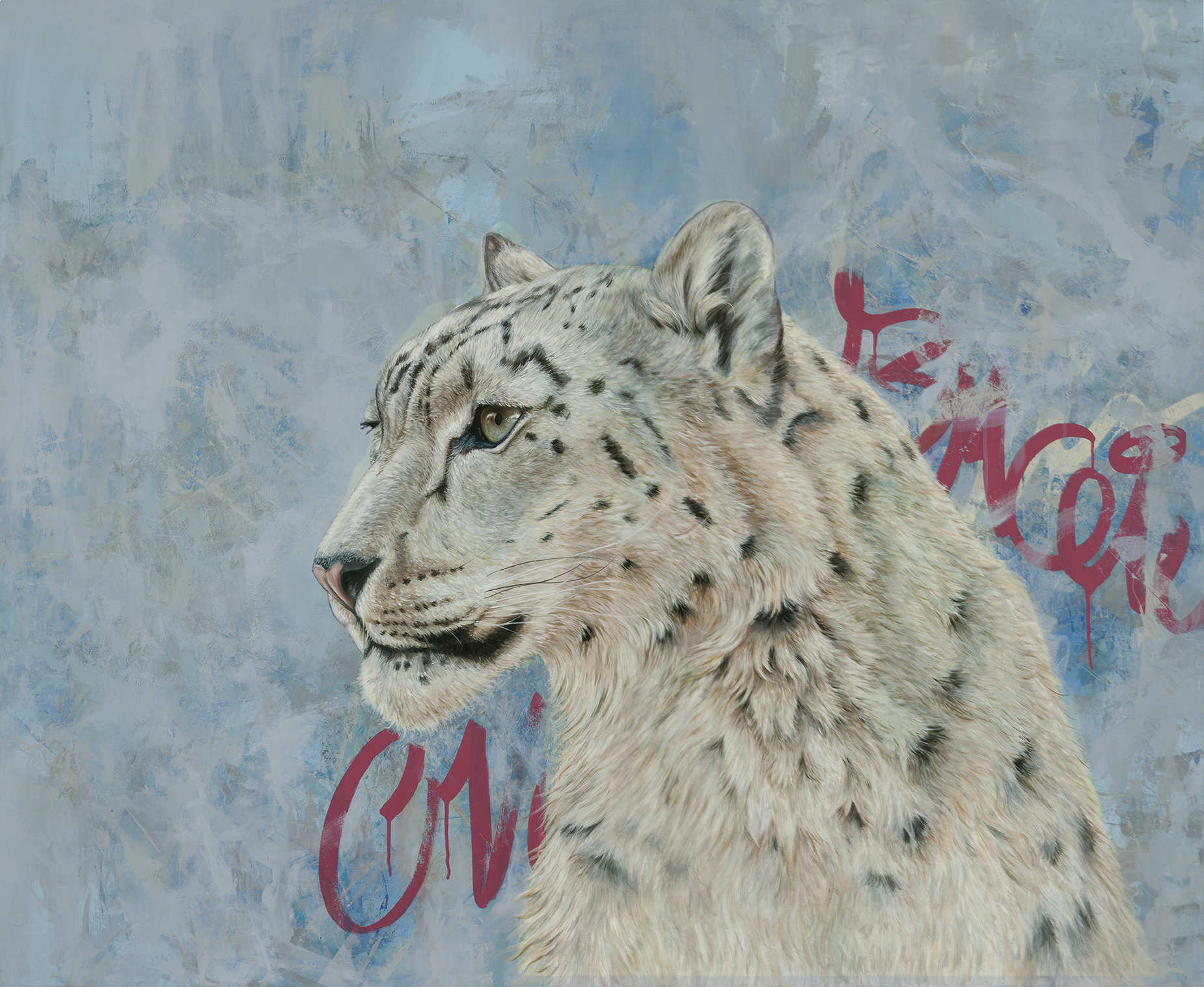Louis artwork by Robyn Ward - art listed for sale on Artplode