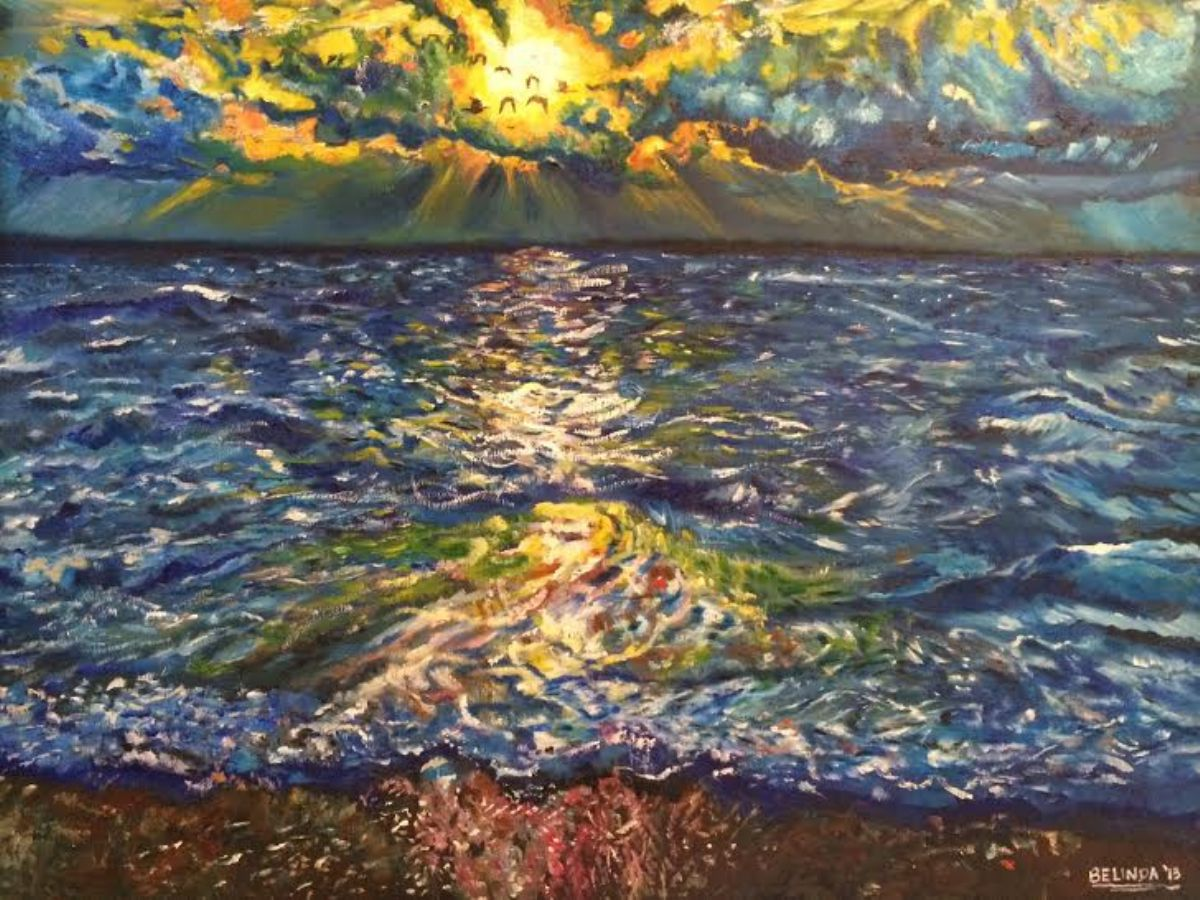 Going Home artwork by Belinda Low - art listed for sale on Artplode