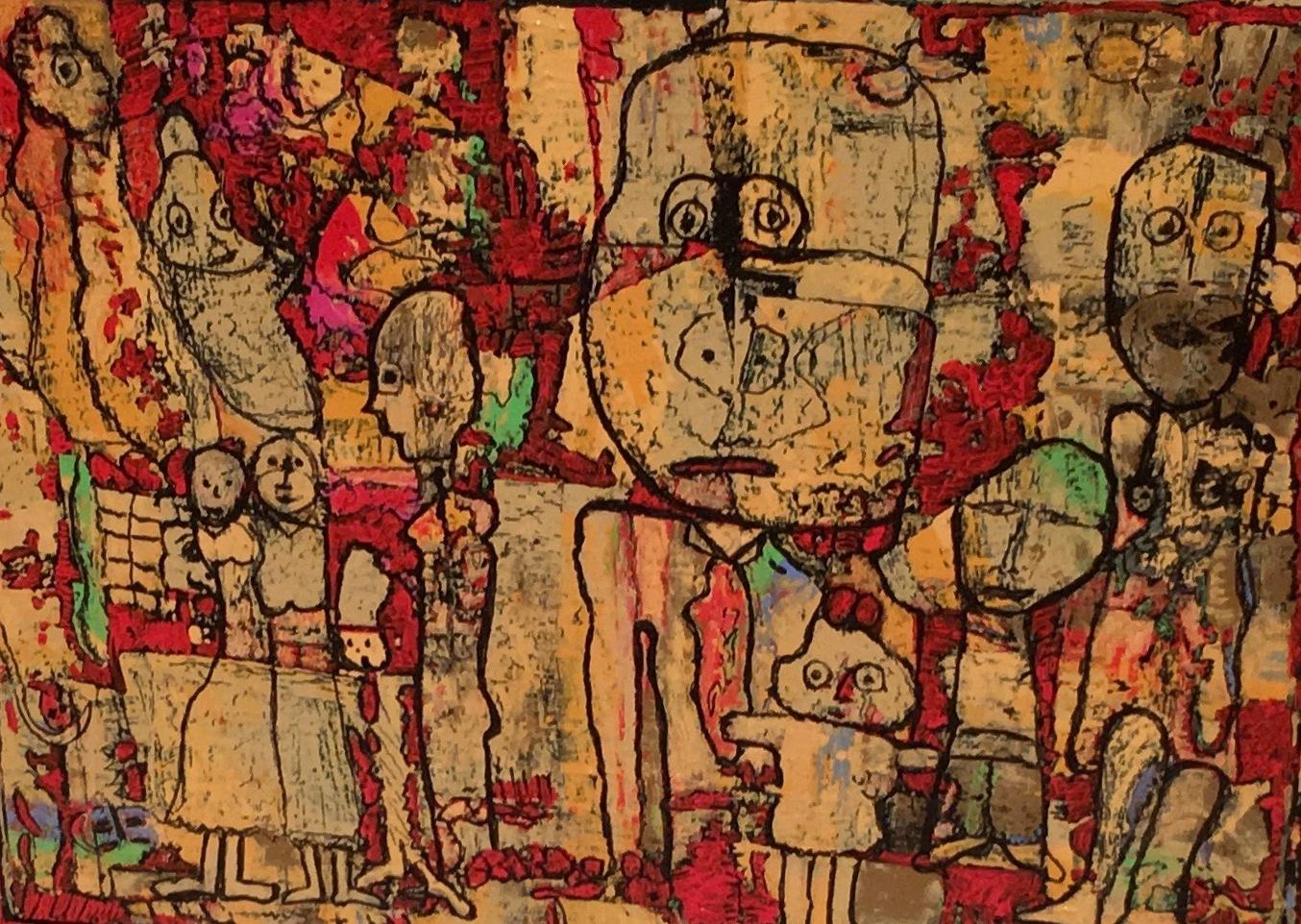 Fragile Feelings artwork by Sally Bennett - art listed for sale on Artplode
