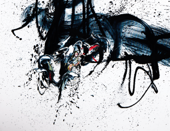 Emotion in Motion artwork by Vahan Roumelian