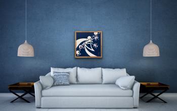 X713 artwork by Lyn Feazelle