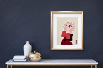 Marilyn artwork by Lyn Feazelle - art listed for sale on Artplode