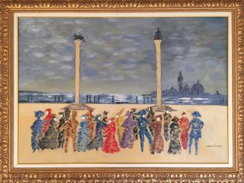 Carnevale di Venezia, art for sale online by Letizia Zombory