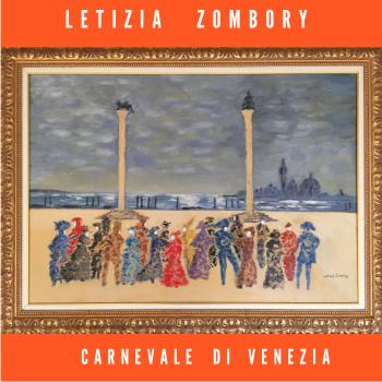 Carnevale di Venezia artwork by Letizia Zombory - art listed for sale on Artplode