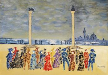 Carnevale di Venezia, art for sale online by Letizia Zombory
