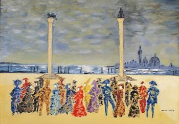 Carnevale di Venezia artwork by Letizia Zombory