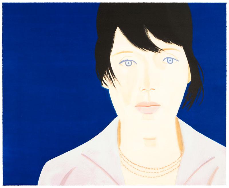 Kym artwork by Alex Katz - art listed for sale on Artplode