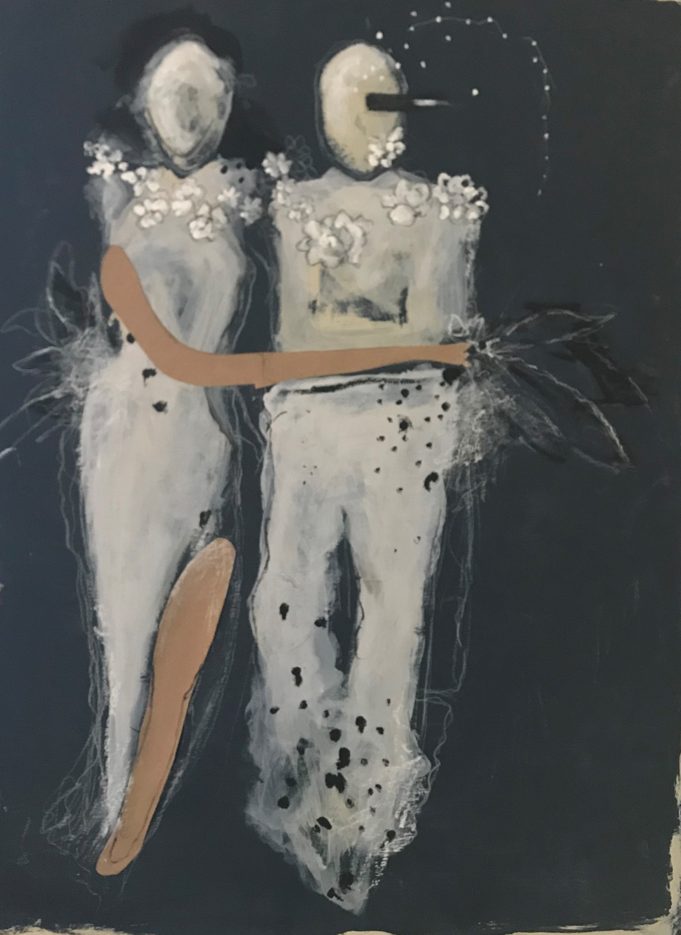 Midnight in Paris artwork by Isa Austen - art listed for sale on Artplode