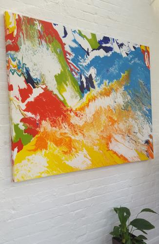 Mid Summer Ebulliance artwork by Clive Grierson - art listed for sale on Artplode