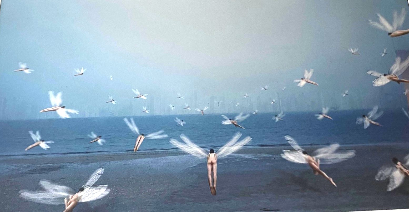 Mirage 2005 artwork by Chi Peng - art listed for sale on Artplode