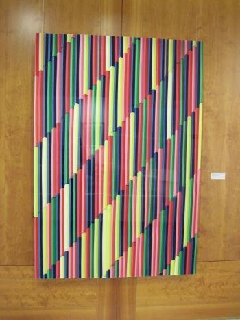 Museum Munich artwork by Roland Fischer