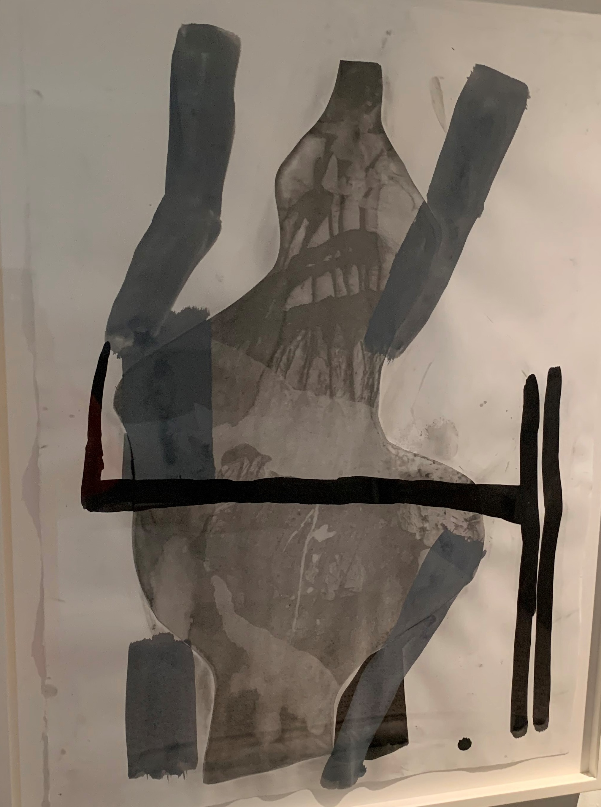 A Shape that Stands Up and Listens No 37 artwork by Amy Sillman - art listed for sale on Artplode