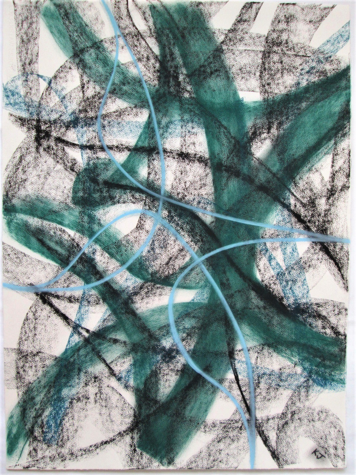 Movement No 2 artwork by Kevin Jones - art listed for sale on Artplode