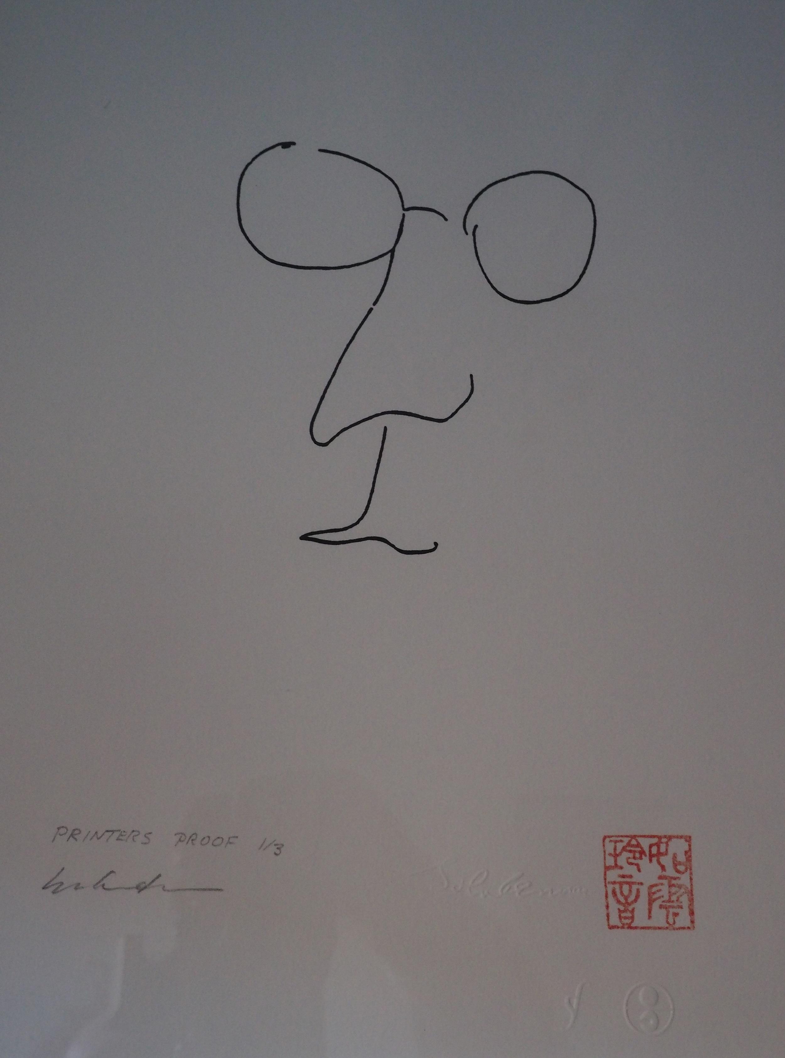 jibun artwork by john lennon - art listed for sale on Artplode
