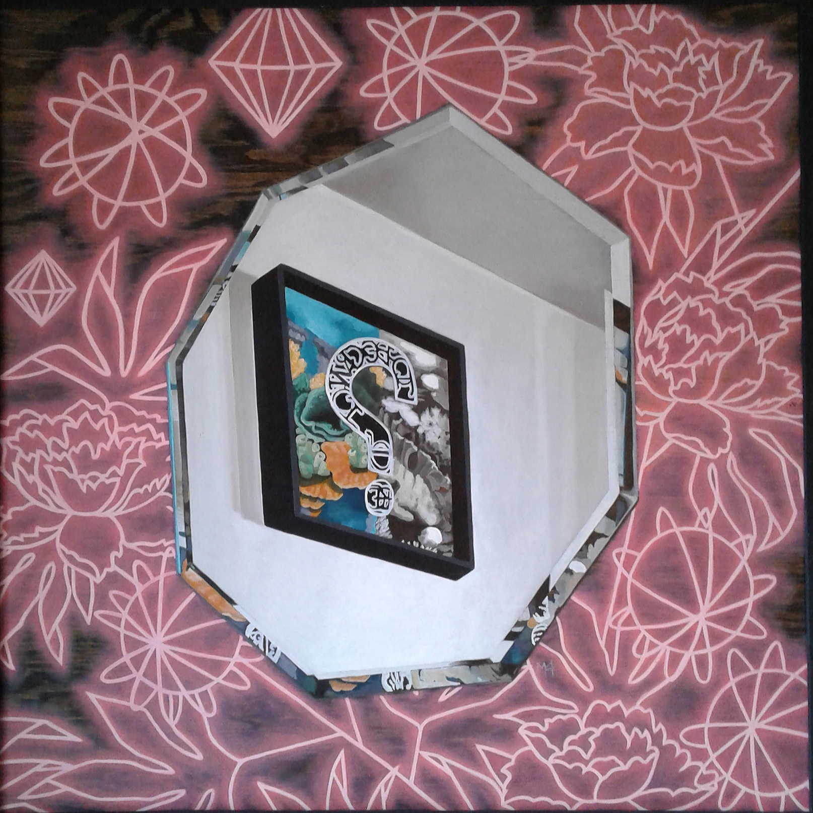 Meta World and Neon artwork by Molly Harris - art listed for sale on Artplode