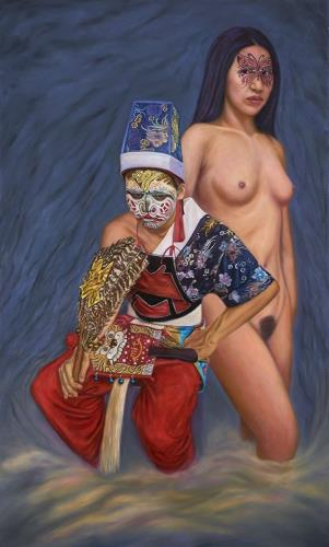 Taiwan Traditional Holy General Art artwork by Jhuang Jian Yu - art listed for sale on Artplode