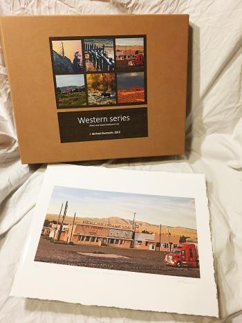 Western Series Box Set artwork by John M Dumoulin