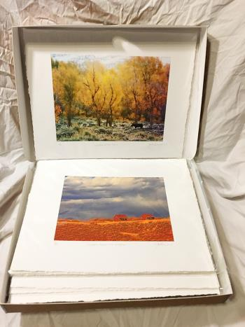 Western Series Box Set artwork by John M Dumoulin - art listed for sale on Artplode