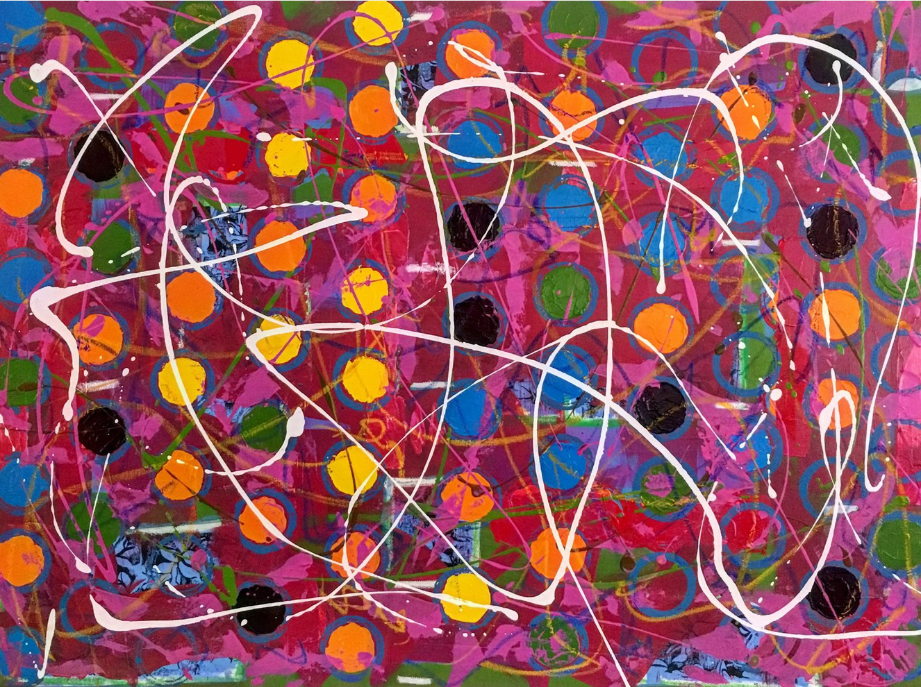 Hey Baby Whoa Baby Pretty Baby artwork by Mary Lonergan - art listed for sale on Artplode