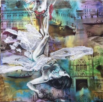 Venetian carnival, art for sale online by Svitlana Smyshlyayeva