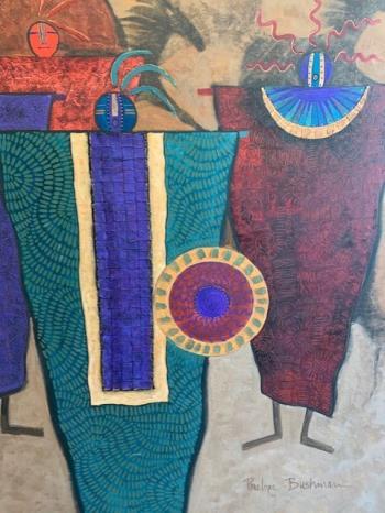 Ancient Peacekeepers artwork by Penelope Bushman