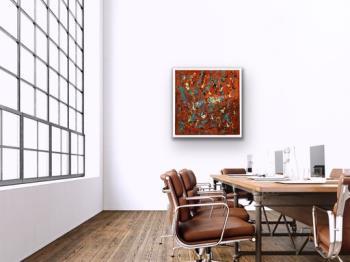 40th St Hike artwork by Tonya Eckerman - art listed for sale on Artplode