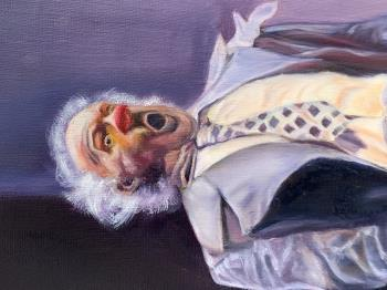 George the Clown artwork by Sarah Brooke