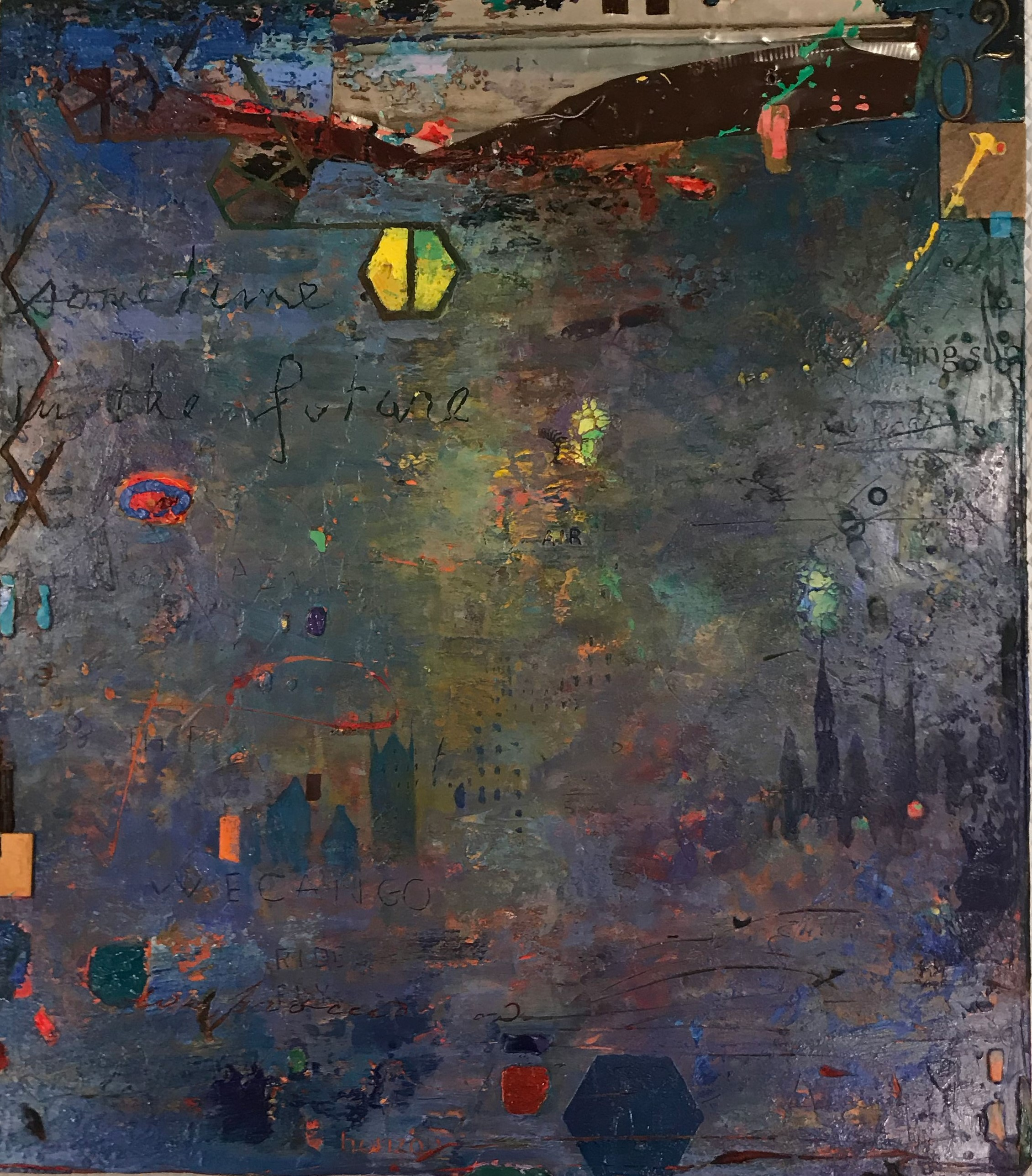 Days of Breathing artwork by Andrew Saftel - art listed for sale on Artplode