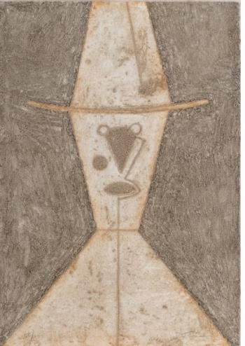 Cabeza con Sombrero , art for sale online by Rufino Tamayo
