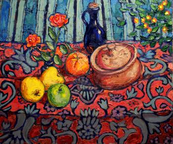 Still Life with Roses, art for sale online by Paul Herman