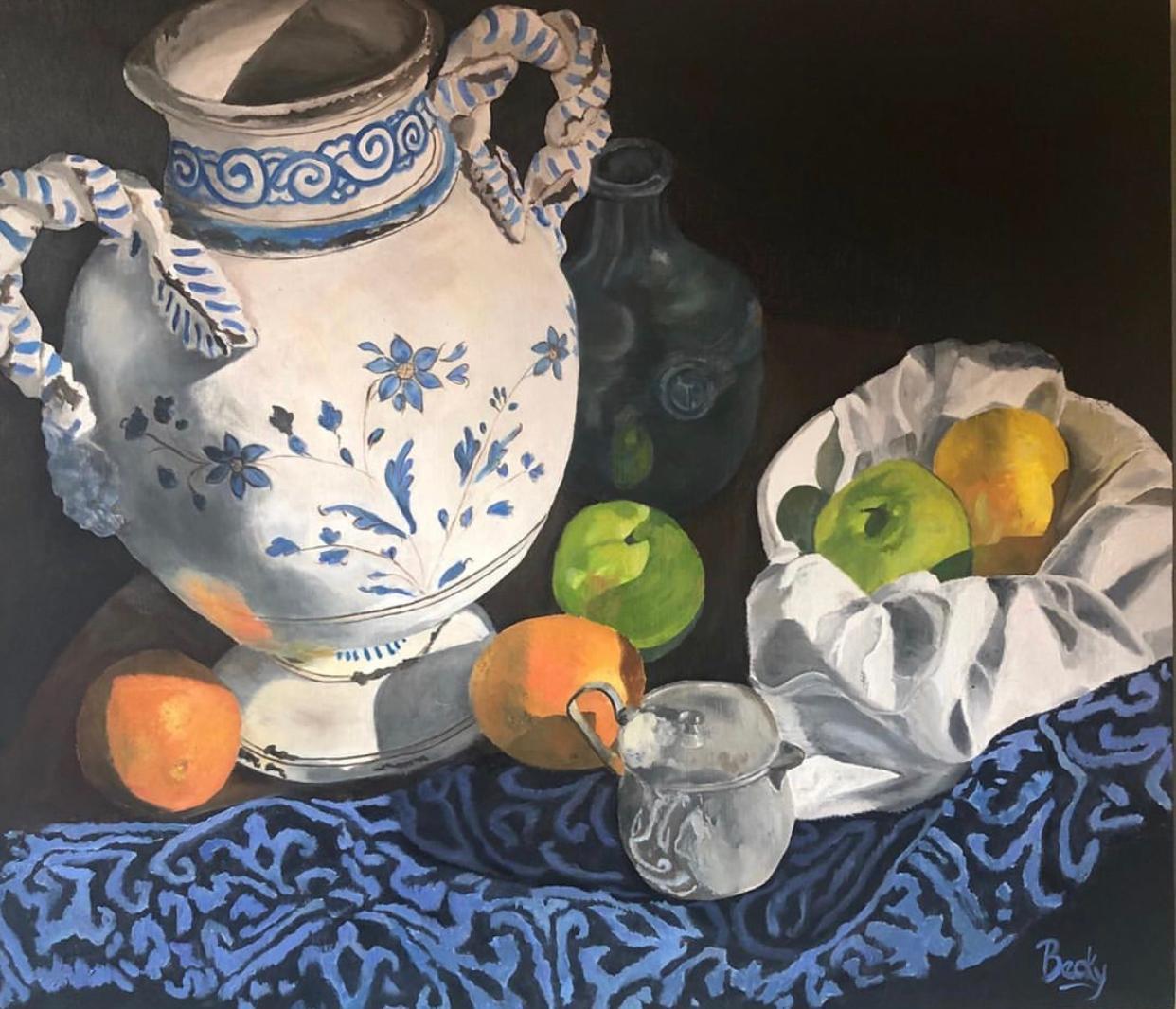 Morning Light  artwork by Becky Arthur - art listed for sale on Artplode