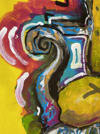 Dont Get Me Wrong I Am Contemporary artwork by Alvaro Segura