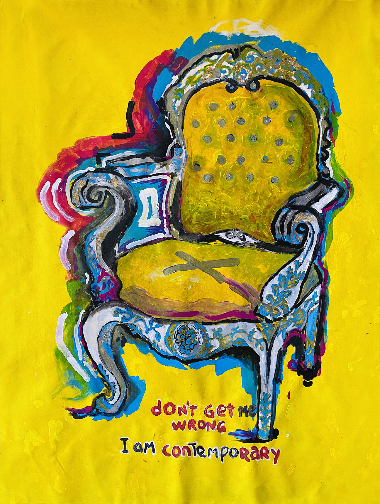 Dont Get Me Wrong I Am Contemporary artwork by Alvaro Segura - art listed for sale on Artplode