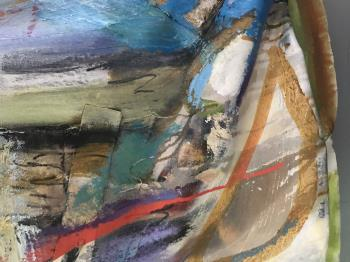 Second Mountain artwork by Mary Morgan - art listed for sale on Artplode