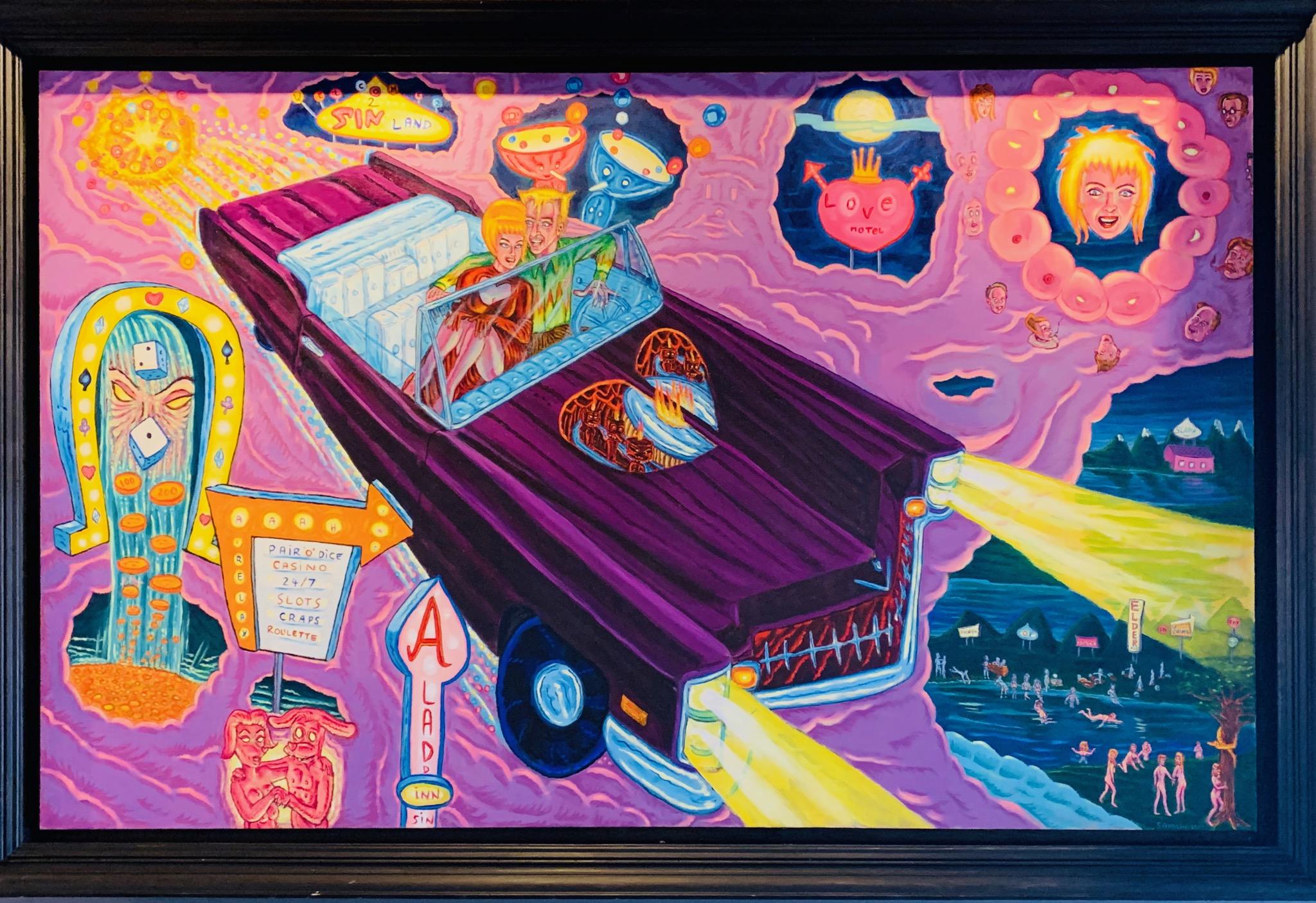 Pair o Dice artwork by David Sandlin - art listed for sale on Artplode