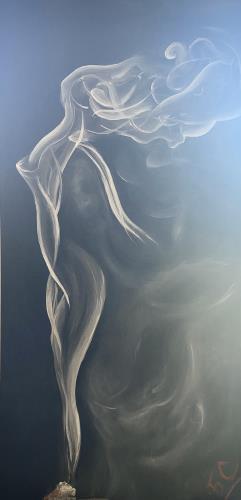 Dancing In The Dark  artwork by Biljana Stojanovic