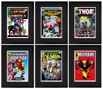 Marvel Superheroes Portfolio , art for sale online by Stan Lee